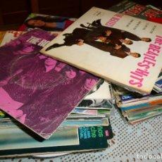 Discos de vinilo: LOTE 100 EP Y SINGLES BEATLES, SOUL, ROLLING STONES, SIREX, BRINCOS, MUSTANGS... (VER IMÁGENES). Lote 241862040