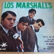 Discos de vinilo: LOS MARSHALLS - CHICO YE YE EP 1965 GARAGE BEAT - CON DOS COVER DE THE KINKS. Lote 241863160
