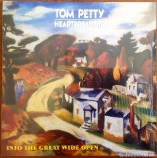 Discos de vinilo: TOM PETTY AND THE HEARTBREAKERS - INTO THE GREAT WIDE OPEN. Lote 241890920
