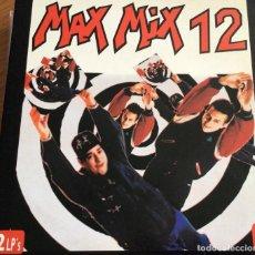 Disques de vinyle: MAX MIX 12-DOBLE LP 1992. Lote 241895865