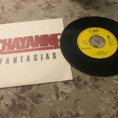 """Discos de vinilo: CHAYANNE, VINILO 7"""" (FANTASÍAS). Lote 241924800"""