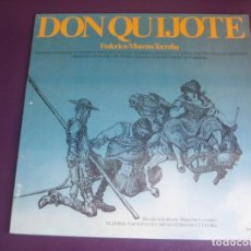 Dischi in vinile: DON QUIJOTE - MORENO TORROBA - SINFONICA DE PRAGA - LP COLUMBIA 1982 PROMO - BALLET NACIONAL ESPAÑOL. Lote 241928065