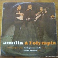Discos de vinilo: AMALIA RODRIGUES– AMALIA À L'OLYMPIA. Lote 241935100