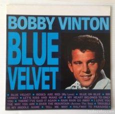 Discos de vinilo: BOBBY VINTON. BLUE VELVET. CBS, 1990. Lote 241938970