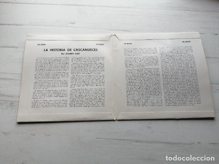 Discos de vinilo: TCHAIKOWSKY Cascanueces Doble EP 33 RPM SPAIN 1962 Vinilo NM/Carpeta EX+ - Foto 3 - 241951705