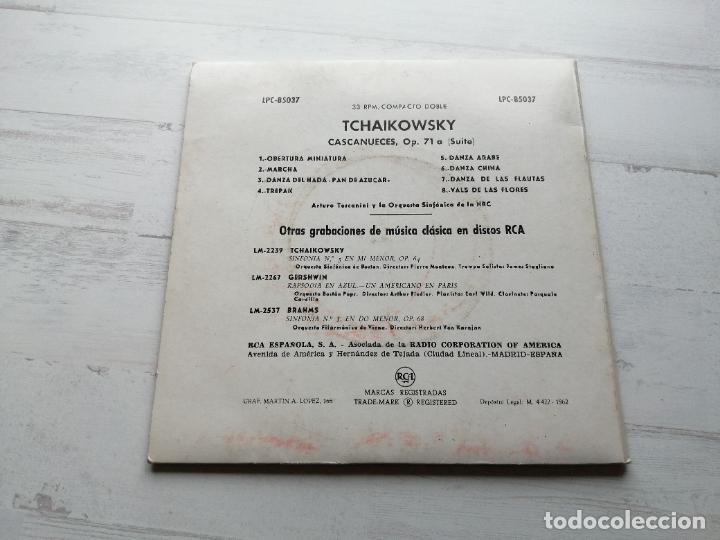 Discos de vinilo: TCHAIKOWSKY Cascanueces Doble EP 33 RPM SPAIN 1962 Vinilo NM/Carpeta EX+ - Foto 4 - 241951705