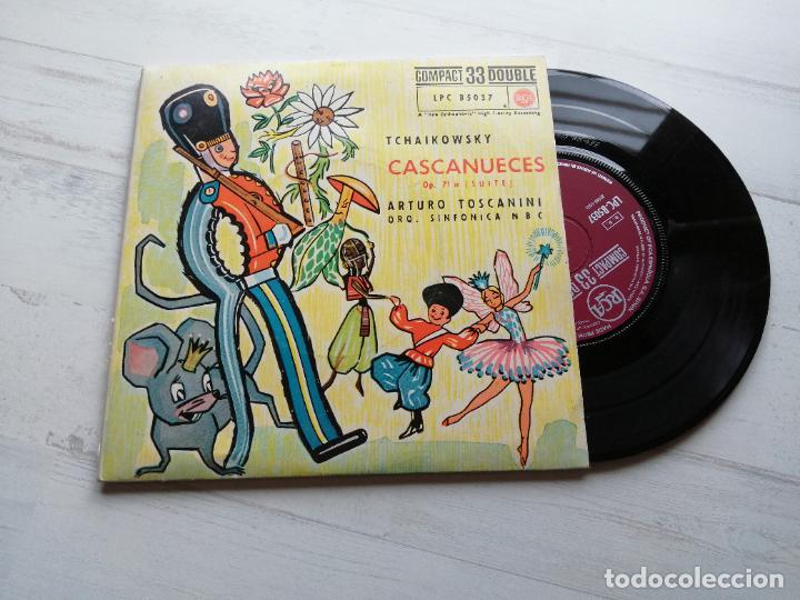 TCHAIKOWSKY CASCANUECES DOBLE EP 33 RPM SPAIN 1962 VINILO NM/CARPETA EX+ (Música - Discos de Vinilo - EPs - Clásica, Ópera, Zarzuela y Marchas)