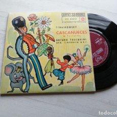 Discos de vinilo: TCHAIKOWSKY CASCANUECES DOBLE EP 33 RPM SPAIN 1962 VINILO NM/CARPETA EX+. Lote 241951705