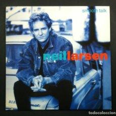 Discos de vinilo: NEIL LARSEN - SMOOTH TALK - LP ALEMAN 1989 - MCA. Lote 241956850