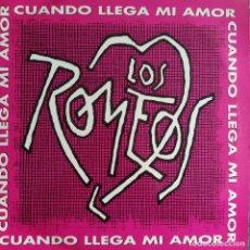 """Discos de vinilo: LOS ROMEOS - CUANDO LLEGA MI AMOR (12"""", MAXI) (1993/ES). Lote 241973270"""