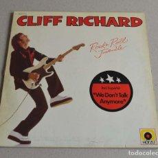 Discos de vinilo: CLIFF RICHARD - ROCK' N' ROLL JUVENILE. Lote 241985855
