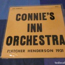 Discos de vinilo: LOTT113 LP JAZZ UK 60S FHETCHER HENDERSON 1931 CONNIE´S INN ORCHESTRA BUEN ESTADO. Lote 241991340