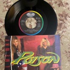 """Discos de vinilo: POISON VINILO 7"""". Lote 242028915"""