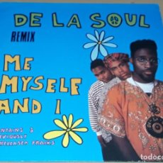 Discos de vinilo: MAXI SINGLE - DE LA SOUL - ME MYSELF AND I - MADE IN GERMANY - DE LA SOUL - REMIX. Lote 242042705