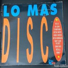 Discos de vinilo: LO MAS DISCO '91 2LP ROZALLA CHIMO BAYO. Lote 242046540