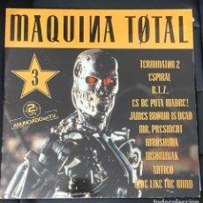 Discos de vinilo: MAQUINA TOTAL 3 2LP VINILO TECHNO MAQUINA. Lote 242046935