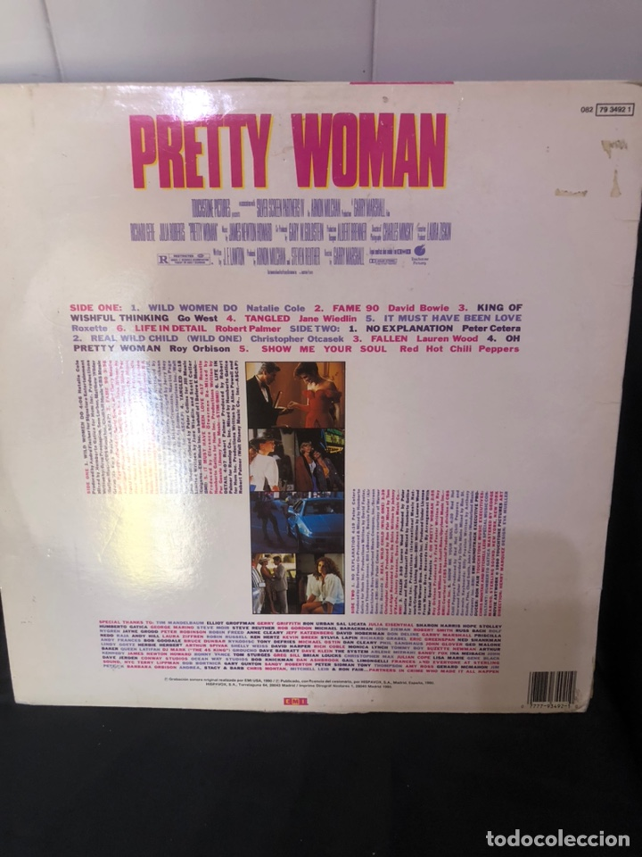 Discos de vinilo: Disco vinilo Prety woman. Colección - Foto 2 - 242052530