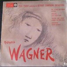 Discos de vinilo: PAUL PARAY-DETROIT SYMPHONY ORCHESTRA-RICHARD WAGNER-MERCURY RECORDS. Lote 242053110