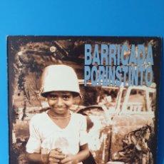 Disques de vinyle: BARRICADA – POR INSTINTO / VINYL, LP, ALBUM 510 299-1. Lote 242056860