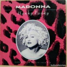 Discos de vinilo: MADONNA, HANKY PANKY, UK 1990, SIRE W 9789 T (VG+_VG+). Lote 242069140