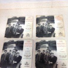 Dischi in vinile: THE ROLLING STONES-CAROL-TELL ME-AÑO 1964-CUATRO VINILOS. Lote 242073775