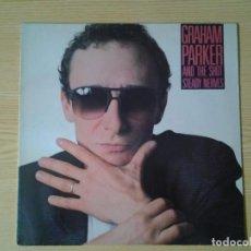 Discos de vinilo: GRAHAM PARKER AND THE SHOT -STEADY NERVES- LP COPIA PROMOCIONAL ELEKTRA 1985 ED. ESPAÑOLA 96 0388-1. Lote 242078015
