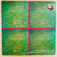 Discos de vinilo: JIMMY SOMERVILLE, SOMETHING TO LIVE, MAXI, ESPAÑA 1999, BLANCO Y NEGRO MX 981 (M) ,(VG+_VG+). Lote 242081555