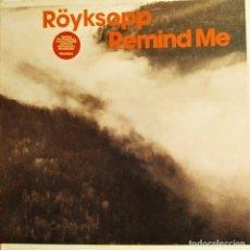 Discos de vinilo: ROYKSOPP, REMIND ME, UK 2002, WALL OF SOUND – WALLT074X (EX_EX). Lote 242084710