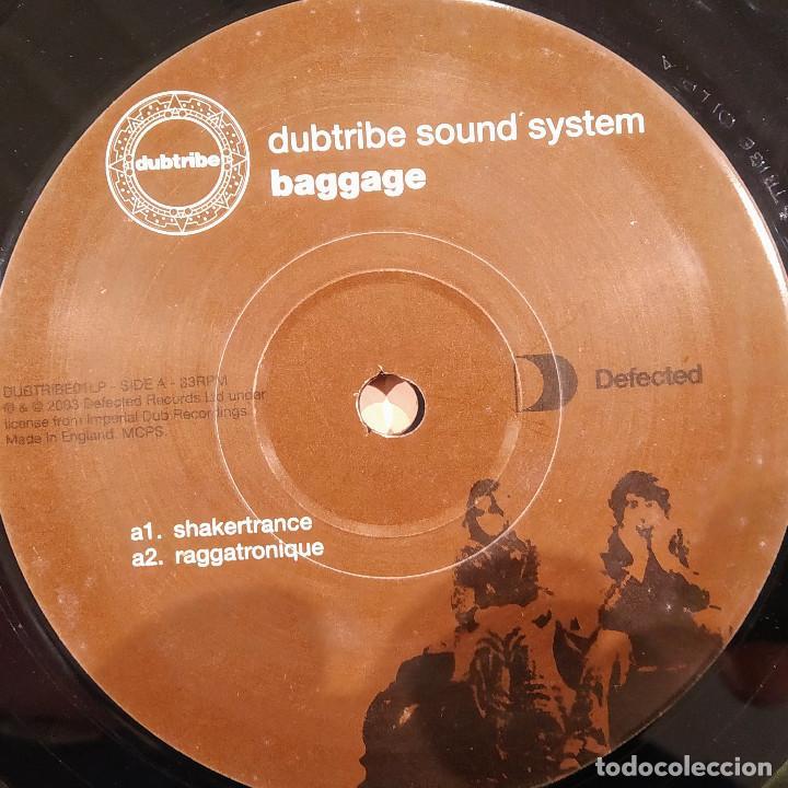 DUBTRIBE SOUND SYSTEM, BAGGAGE, UK 2003, SÓLO DISCO 1, EXCELENTE ESTADO. (EX_EX) (Música - Discos de Vinilo - Maxi Singles - Pop - Rock Internacional de los 90 a la actualidad)