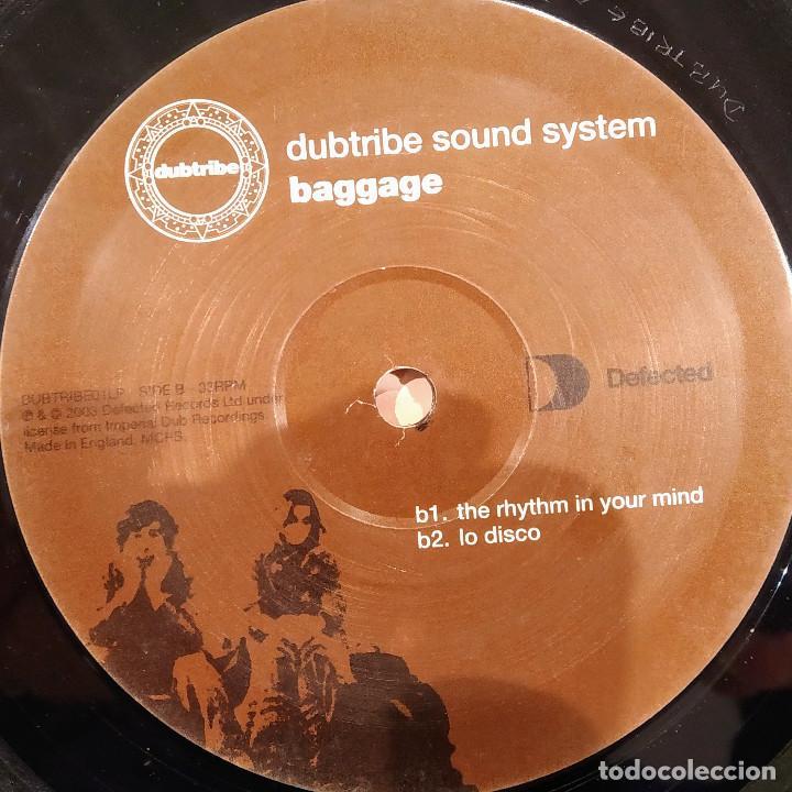 Discos de vinilo: DUBTRIBE SOUND SYSTEM, BAGGAGE, UK 2003, SÓLO DISCO 1, excelente estado. (EX_EX) - Foto 2 - 242097335