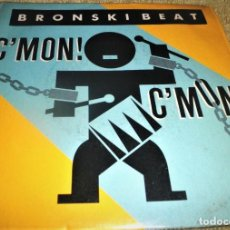 Discos de vinilo: BRONSKI BEAT, C´MON C´MON, SOMETHING SPECIAL, DRUM MAJORS, 1986, (VG+_VG+). Lote 242109650
