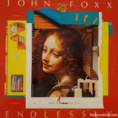 Discos de vinilo: JOHN FOXX, ENDLESSLY, FRANCIA 1983, VIRGIN – 600 937 .(VG+_EX). Lote 242117315