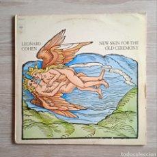 Discos de vinilo: LEONARD COHEN - ¡SOLO PORTADA! NEW SKIN FOR THE OLD CEREMONY, CBS, 1974. HOLLAND.. Lote 242121460