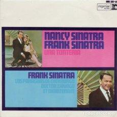 Discos de vinilo: NANCY SINATRA, FRANK SINATRA – UNA TONTERÍA. Lote 242153550