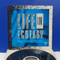 Disques de vinyle: MAXI SINGLE DISCO VINILO LIFE IN ECSTASY TRUST IN 6. Lote 242158040