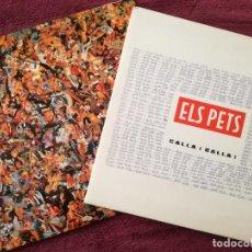 Discos de vinilo: ELS PETS 2 LPS CALLA I BALLA + FRUITS SEX (DISCMEDI) 2 LP. Lote 242158140