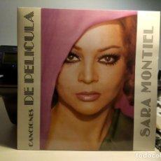 Discos de vinilo: DOBLE LP SARA MONTIEL : CANCIONES DE PELICULA. Lote 242165395