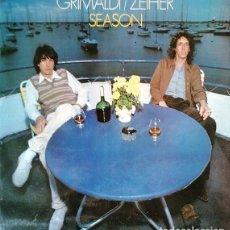 Discos de vinilo: GRIMALDI / ZEIHER - SEASONS - LP DE VINILO EDICION FRANCESA #. Lote 242175015