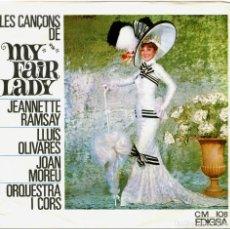 Discos de vinilo: JEANNETTE RAMSAY, LLUIS OLIVARES, JOAN MOREU - MY FAIR LADY - EP SPAIN 1965 - EDIGSA CM 108. Lote 242186405