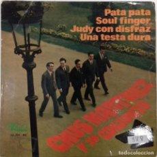 Discos de vinilo: CHUS MARTÍNEZ Y SU CONJUNTO – SOUL FINGER- EP- ED. ESPAÑOLA- 1968. Lote 242201510