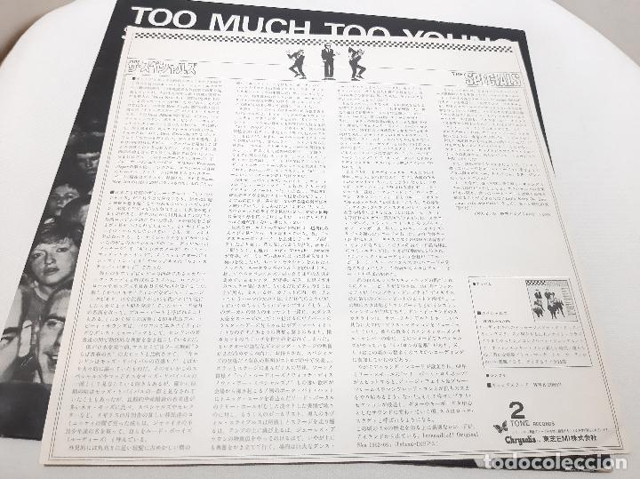 Discos de vinilo: THE SPECIALS A.K.A. FEATURING RICO -TOO MUCH TOO YOUNG- (1980) EP - Foto 6 - 242202105
