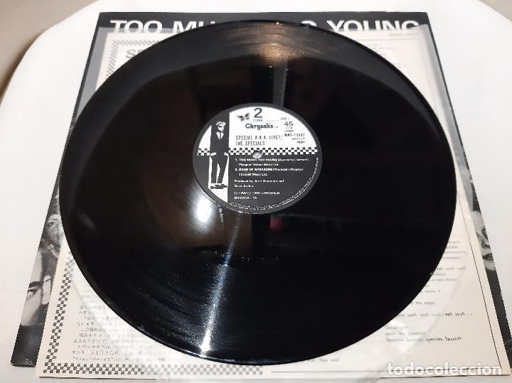 Discos de vinilo: THE SPECIALS A.K.A. FEATURING RICO -TOO MUCH TOO YOUNG- (1980) EP - Foto 8 - 242202105