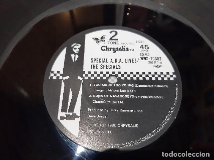 Discos de vinilo: THE SPECIALS A.K.A. FEATURING RICO -TOO MUCH TOO YOUNG- (1980) EP - Foto 9 - 242202105