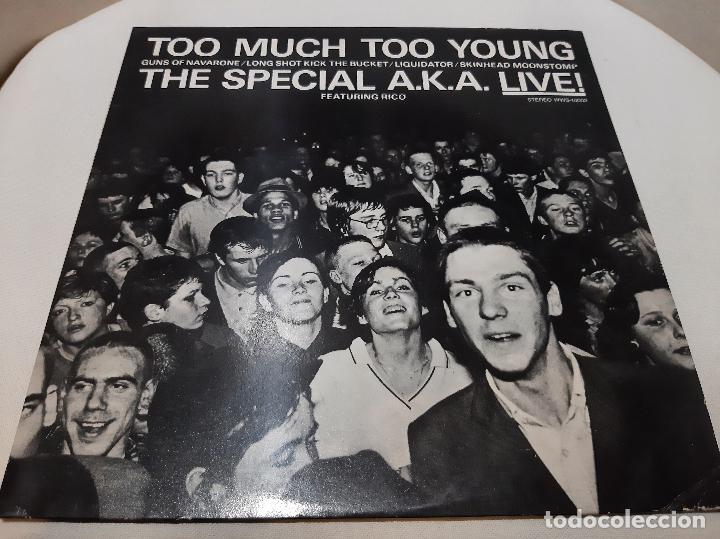 THE SPECIALS A.K.A. FEATURING RICO -TOO MUCH TOO YOUNG- (1980) EP (Música - Discos de Vinilo - EPs - Reggae - Ska)