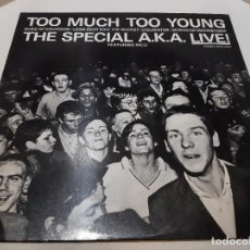 Discos de vinilo: THE SPECIALS A.K.A. FEATURING RICO -TOO MUCH TOO YOUNG- (1980) EP. Lote 242202105