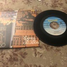 """Discos de vinilo: JOE ARROYO, VINILO 7"""" (LA GUERRA DE LOS CALLADOS). Lote 242209905"""