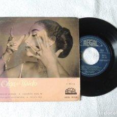 Discos de vinilo: OLGA DE USIETO -- MI DULCE QUERER+3 EP (1959). Lote 242210915