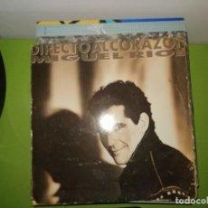 Discos de vinilo: DISCO MIGUEL RIOS - LDIRECTO AL CORAZON. Lote 242214500