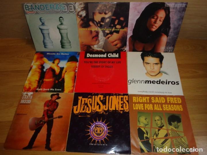 LOTE 9 SINGLES POP ROCK INTERNACIONAL AÑOS '90 (Música - Discos - Singles Vinilo - Pop - Rock Internacional de los 90 a la actualidad)