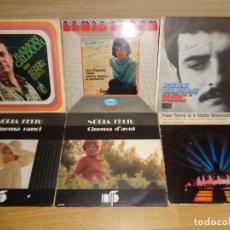 Discos de vinilo: LOTE SINGLES Y EP'S NOVA CANÇO. Lote 242228980